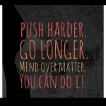 Push yourself all day every day Commit to be fithellip